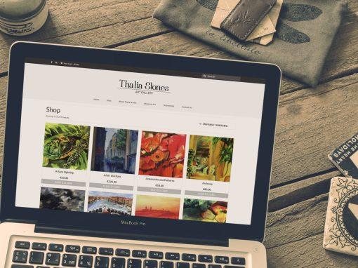 Thalia Stones – Branding & Website