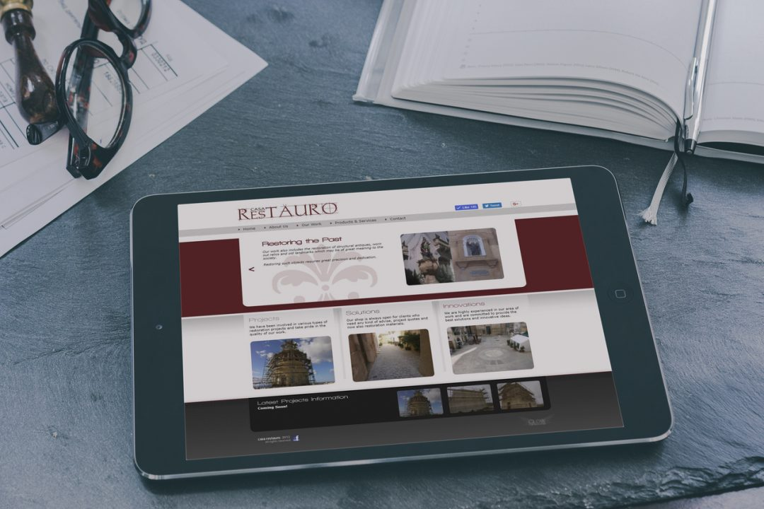 Casa Restauro – Website