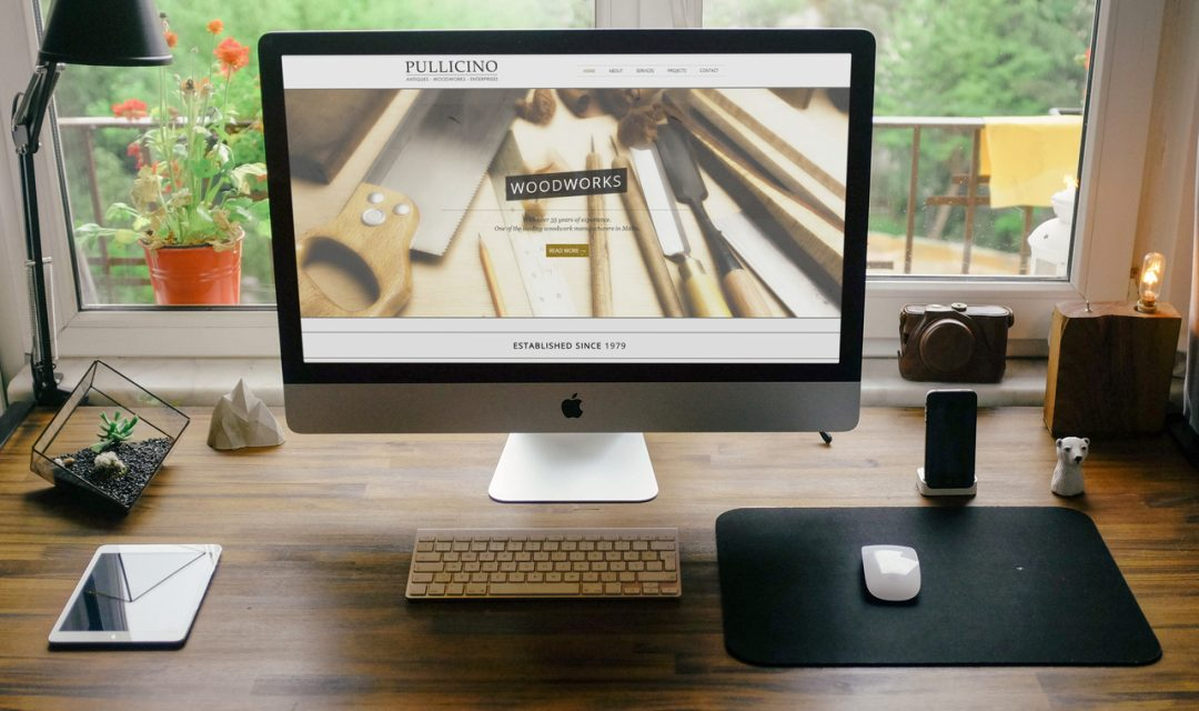 Pullicino Woodworks – Branding & Website