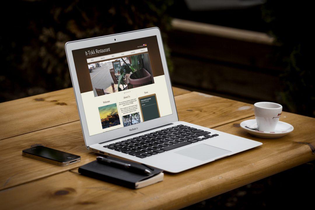 Tokk Restaurant – Branding & Website